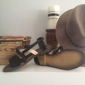 Anthropologie Leather Sandal